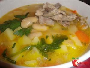 Суп из фасоли (Акурдца)